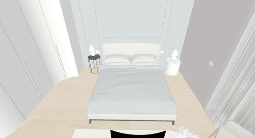 Camera da letto - Disposizione