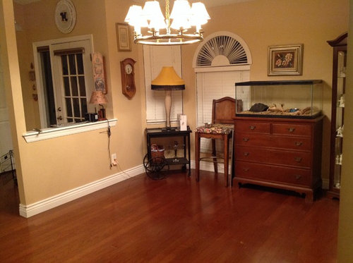 Help Turning Dining Room Into Sitting Room Tv Room