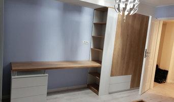 Bedroom design, custom furniture