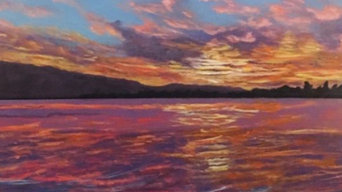 Seascape Acrylic Painting
