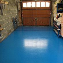 Garage Floor Painting North East England