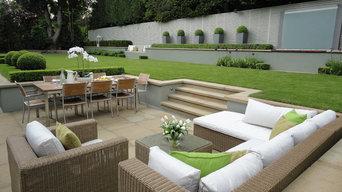 Large Family Garden Wimbledon