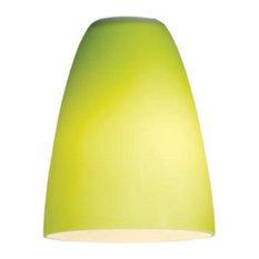 Access Lighting 23122 Mini Pendant Dome Glass Shade - Green