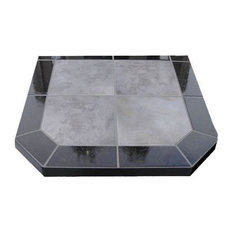 """American Panel 40 DL NS Night Shadows Tile Double Cut Stove Board, 40""""x40"""""""