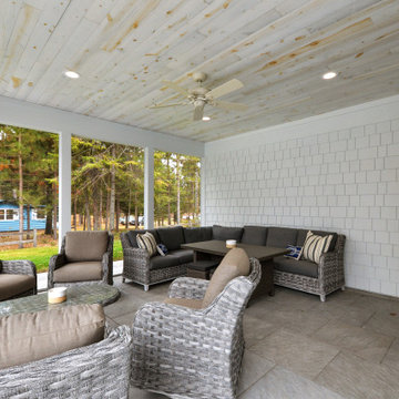 Elk Lake, MN - 2 Story home with covered porches and carriage house
