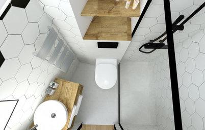 Avant/Après : 3 semaines pour rénover une salle de bains de 2 m2