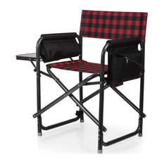 Picnic Time Family of Brands Outdoor Directors Folding Chair 810-17-406-000-0