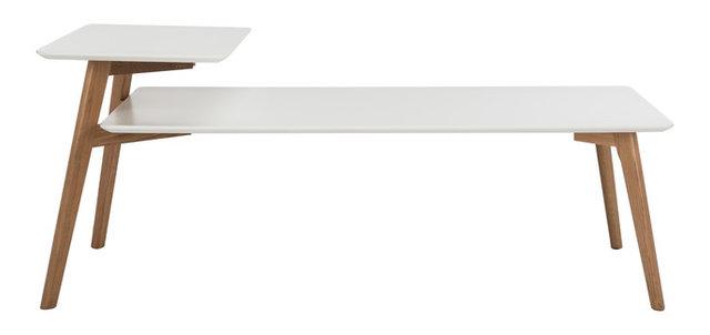 basil 2-tier coffee table - midcentury - coffee tables -hedgeapple