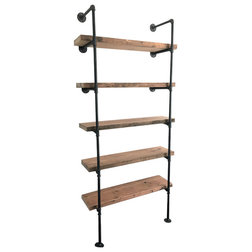 Industrial Bookcases by arc + timber