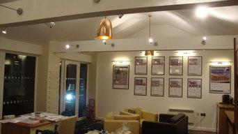 sales centre , david wilson homes