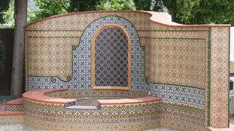 Custom Tile Fountain