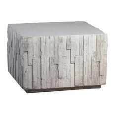 Outdoor Square Modern Accent Table