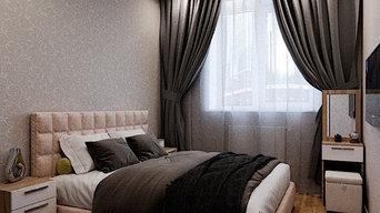 Интерьер 3-комнатной квартиры