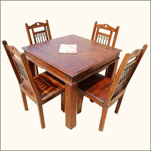 Philadelphia Transitional 5pc Dining Table Chair Set