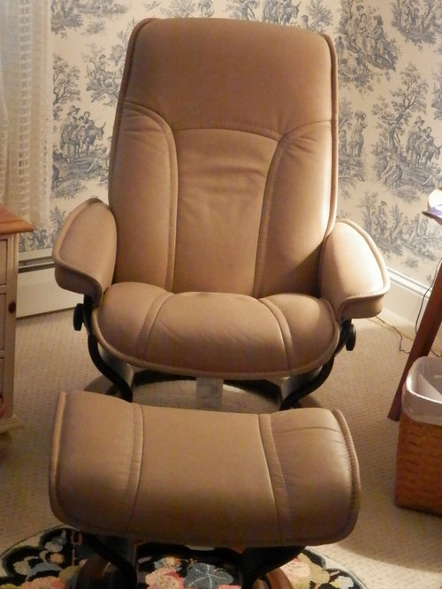 I Recently Purchased A Leather Stressless Chair, And I Like It Very Much.  However, I Would Like A Protective Cover For My Chair.