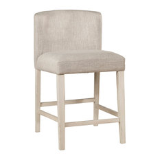 Clarion Non-Swivel Wing Arm Counter Height Stool Set Of 2