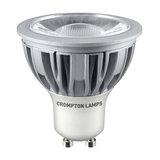 Crompton LED GU10 COB 5W Non-Dimmable Spotlight, 45° Beam, Warm White