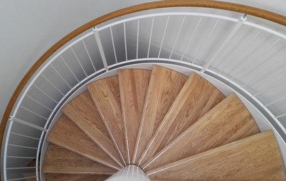 Hvad er forskellen på ... en spindeltrappe og en vindeltrappe?