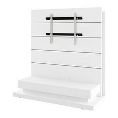 Panorama Lux Entertainment Center White Gloss