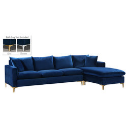 Contemporary Sectional Sofas by Meridian Furniture