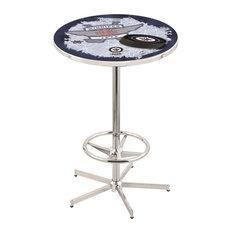 Winnipeg Jets Pub Table 28-inch by Holland Bar Stool Company