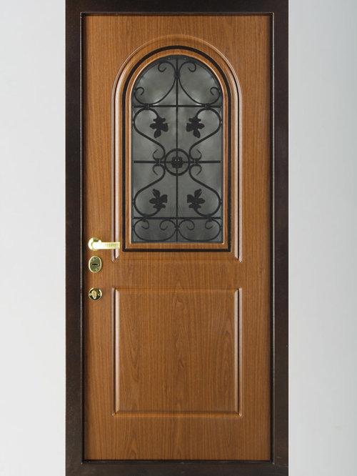 входные двери коттедж люкс