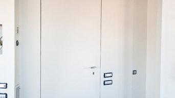 Planamuro, porta blindata invisibile raso muro