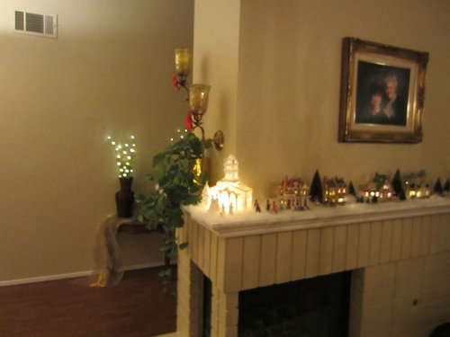 I Have A Wrap Around Fireplace Mantel