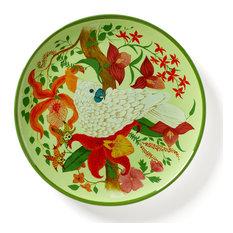 Parrotdise Dinner Plates, Set of 4