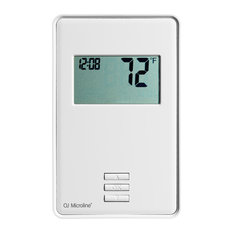 WarmlyYours nTrust Non Programmable Thermostat, Class A GFCI, With Floor Sensor