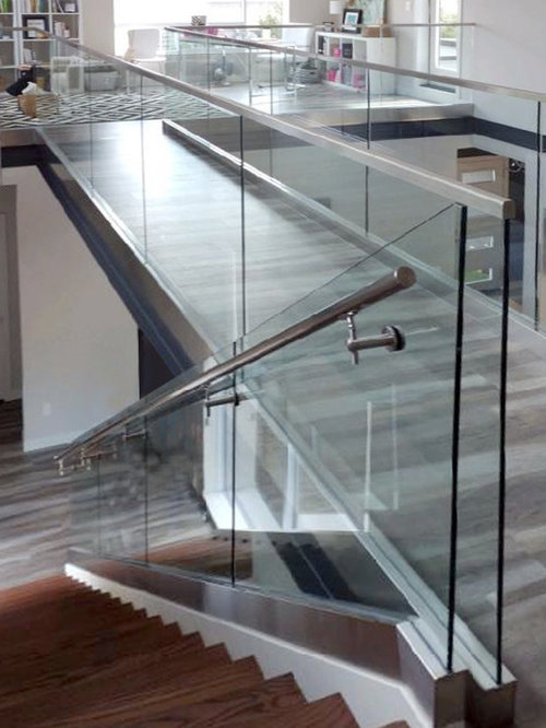 Interior Glass Railing Systems