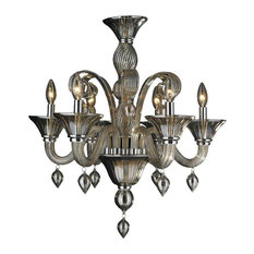 the crystal lighting store authorized dealer murano venetian style 6light blown - Blown Glass Chandelier
