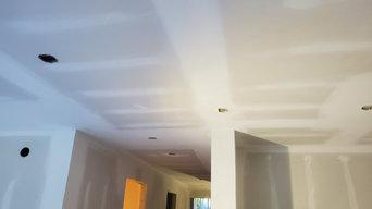 Drywall instalation and  taping