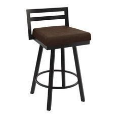 Magnificent Dark Brown Bar Stools Counter Stools Houzz Uwap Interior Chair Design Uwaporg