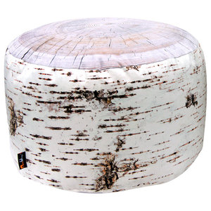 Tree Stump Floor Cushion, Birch