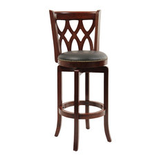 cherry bar stools. 1st Avenue - Dune Cathedral Swivel Bar Stool, Cherry Stools And Counter