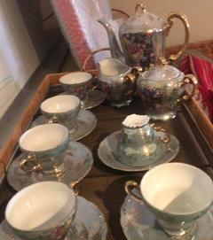 Help Identifying My Japanese Tea Set
