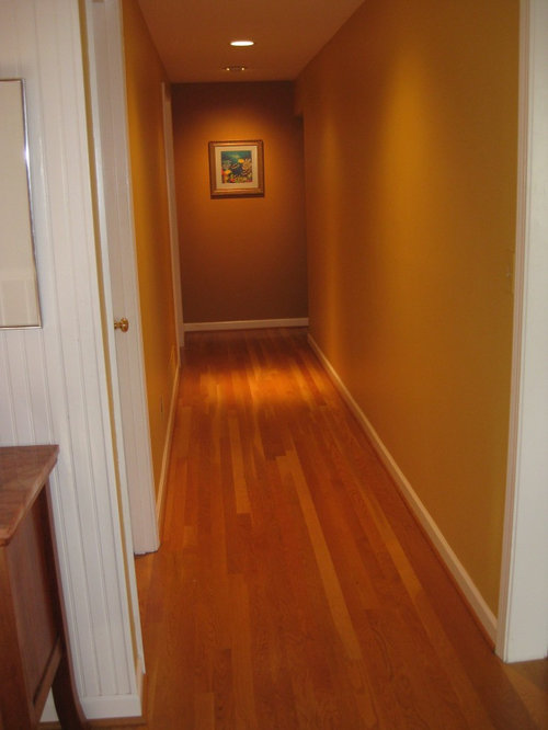 I M Stumped On How To Decorate My Long Narrow Hallway It S