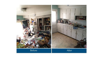 Before and After Hoarding House Cleaning in Holland, MI