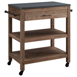 Industrial Kitchen Islands And Kitchen Carts by SEI