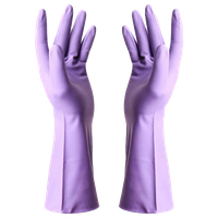 Summer Waterproof Gloves, Cleaning Gloves, Dish Washing Gloves, Purple