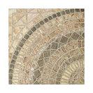 "SomerTile 17.75""x17.75"" Terrae Beige Ceramic Floor and Wall Tiles, Set of 10"
