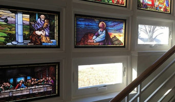 Stained Glass Window Wall
