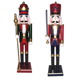 Traditional Holiday Accents And Figurines by Santa's Workshop, Inc
