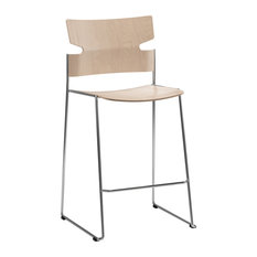 Stack Birch Low Stool