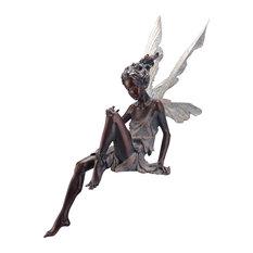 Sitting Fairy Garden Figurine
