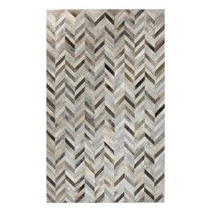 Bashian Albion Area Rug, Gray, 5'x8'
