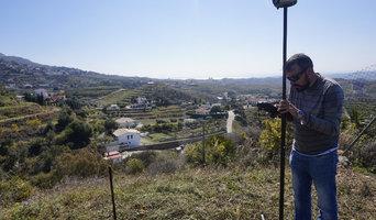 Georreferencianción de una vivienda en Mijas.