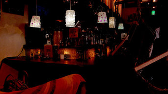 ガラス和紙ライト