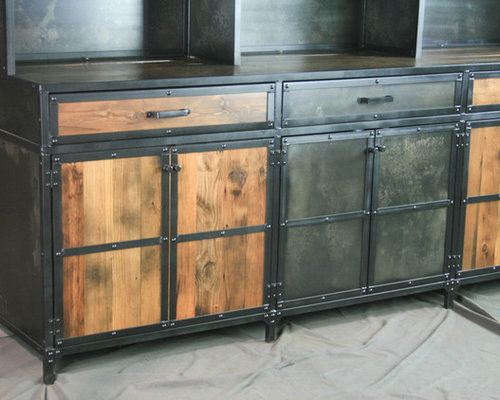 of a porch kind one twig industrial hutch